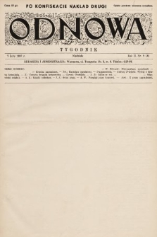 Odnowa. 1937, nr8