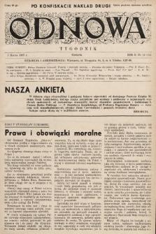 Odnowa. 1937, nr15