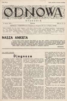 Odnowa. 1937, nr16