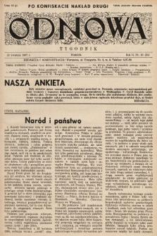 Odnowa. 1937, nr25