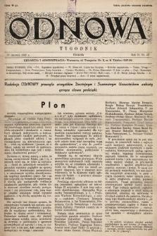 Odnowa. 1937, nr37