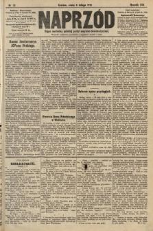 Naprzód : organ centralny polskiej partyi socyalno-demokratycznej. 1910, nr31