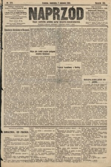 Naprzód : organ centralny polskiej partyi socyalno-demokratycznej. 1910, nr179