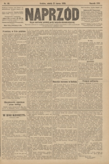 Naprzód : organ centralny polskiej partyi socyalno-demokratycznej. 1908, nr80