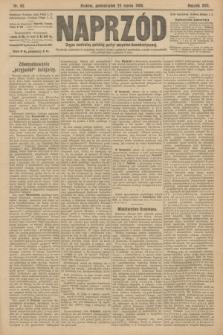 Naprzód : organ centralny polskiej partyi socyalno-demokratycznej. 1908, nr82