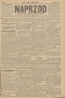 Naprzód : organ centralny polskiej partyi socyalno-demokratycznej. 1908, nr101