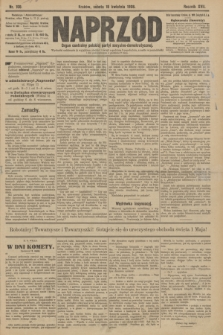Naprzód : organ centralny polskiej partyi socyalno-demokratycznej. 1908, nr108
