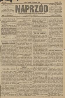 Naprzód : organ centralny polskiej partyi socyalno-demokratycznej. 1908, nr152