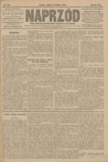 Naprzód : organ centralny polskiej partyi socyalno-demokratycznej. 1908, nr167