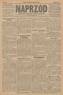 Naprzód : organ centralny polskiej partyi socyalno-demokratycznej. 1908, nr179