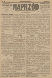 Naprzód : organ centralny polskiej partyi socyalno-demokratycznej. 1908, nr182