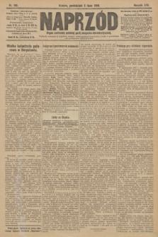 Naprzód : organ centralny polskiej partyi socyalno-demokratycznej. 1908, nr185