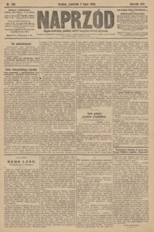 Naprzód : organ centralny polskiej partyi socyalno-demokratycznej. 1908, nr188