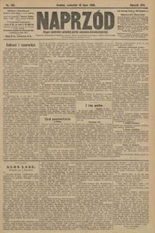 Naprzód : organ centralny polskiej partyi socyalno-demokratycznej. 1908, nr195