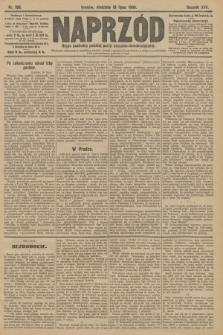 Naprzód : organ centralny polskiej partyi socyalno-demokratycznej. 1908, nr198