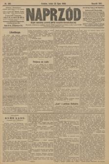 Naprzód : organ centralny polskiej partyi socyalno-demokratycznej. 1908, nr201