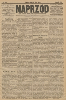 Naprzód : organ centralny polskiej partyi socyalno-demokratycznej. 1908, nr203