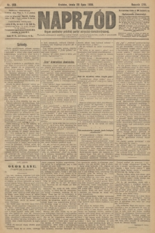 Naprzód : organ centralny polskiej partyi socyalno-demokratycznej. 1908, nr208