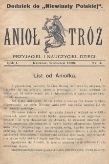 Anioł Stróż : przyjaciel i nauczyciel dzieci. 1900, nr4