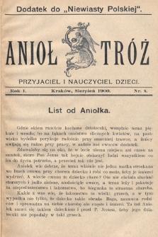 Anioł Stróż : przyjaciel i nauczyciel dzieci. 1900, nr8