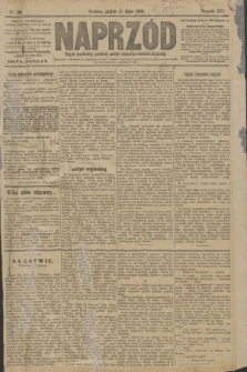 Naprzód : organ centralny polskiej partyi socyalno-demokratycznej. 1908, nr210