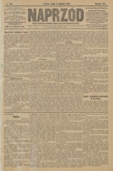 Naprzód : organ centralny polskiej partyi socyalno-demokratycznej. 1908, nr215