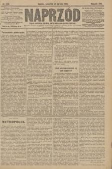 Naprzód : organ centralny polskiej partyi socyalno-demokratycznej. 1908, nr223