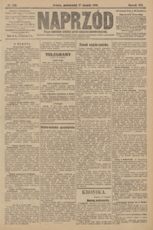 Naprzód : organ centralny polskiej partyi socyalno-demokratycznej. 1908, nr226