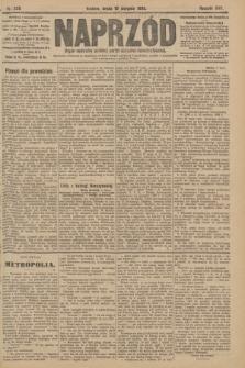 Naprzód : organ centralny polskiej partyi socyalno-demokratycznej. 1908, nr228