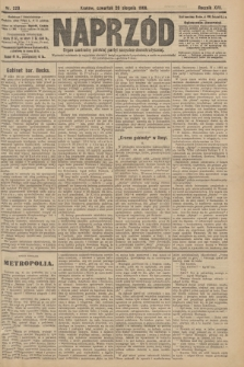 Naprzód : organ centralny polskiej partyi socyalno-demokratycznej. 1908, nr229