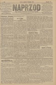 Naprzód : organ centralny polskiej partyi socyalno-demokratycznej. 1908, nr230
