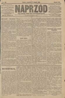 Naprzód : organ centralny polskiej partyi socyalno-demokratycznej. 1908, nr236