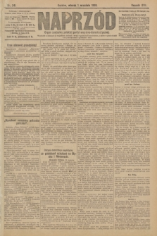 Naprzód : organ centralny polskiej partyi socyalno-demokratycznej. 1908, nr241