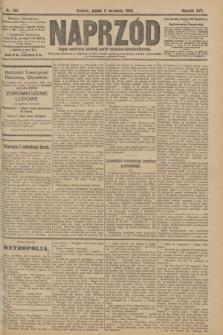 Naprzód : organ centralny polskiej partyi socyalno-demokratycznej. 1908, nr251