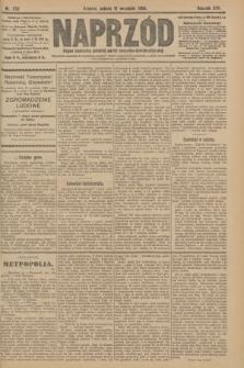 Naprzód : organ centralny polskiej partyi socyalno-demokratycznej. 1908, nr252