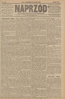 Naprzód : organ centralny polskiej partyi socyalno-demokratycznej. 1908, nr254