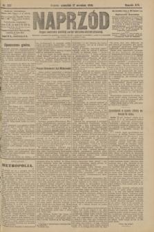 Naprzód : organ centralny polskiej partyi socyalno-demokratycznej. 1908, nr257