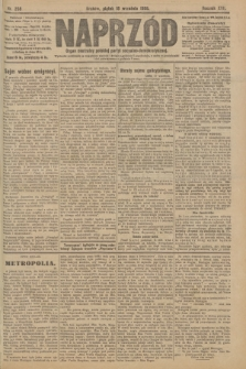 Naprzód : organ centralny polskiej partyi socyalno-demokratycznej. 1908, nr258