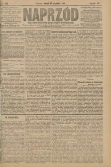 Naprzód : organ centralny polskiej partyi socyalno-demokratycznej. 1908, nr269