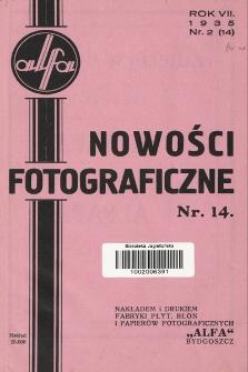 Nowości Fotograficzne. 1935, nr2(14)