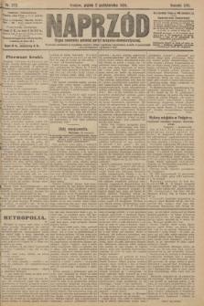 Naprzód : organ centralny polskiej partyi socyalno-demokratycznej. 1908, nr272
