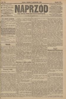 Naprzód : organ centralny polskiej partyi socyalno-demokratycznej. 1908, nr274