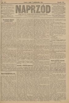 Naprzód : organ centralny polskiej partyi socyalno-demokratycznej. 1908, nr277