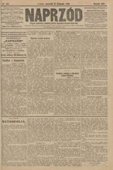 Naprzód : organ centralny polskiej partyi socyalno-demokratycznej. 1908, nr313