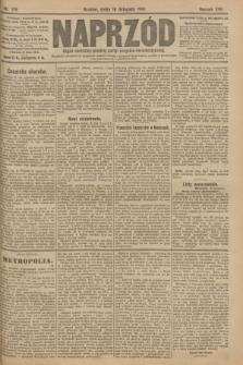 Naprzód : organ centralny polskiej partyi socyalno-demokratycznej. 1908, nr319