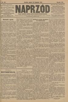 Naprzód : organ centralny polskiej partyi socyalno-demokratycznej. 1908, nr321
