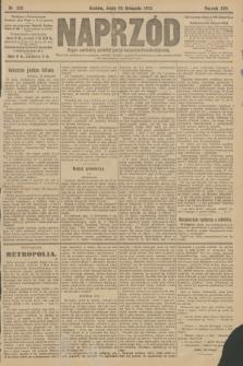 Naprzód : organ centralny polskiej partyi socyalno-demokratycznej. 1908, nr326