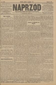 Naprzód : organ centralny polskiej partyi socyalno-demokratycznej. 1908, nr335