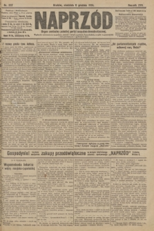 Naprzód : organ centralny polskiej partyi socyalno-demokratycznej. 1908, nr337