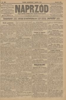 Naprzód : organ centralny polskiej partyi socyalno-demokratycznej. 1908, nr338